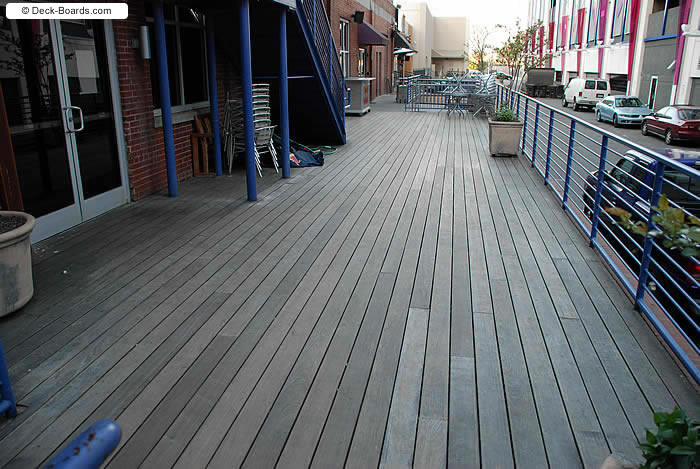 Decking materials ipe wood decking material for Ipe decking