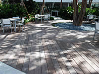 Ipe Decking, slightly weathered
